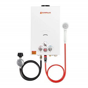 Camplux 10l outdoor tankless propane gas water heater