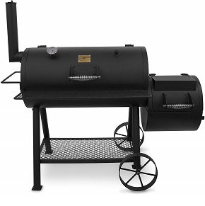 Oklahoma highland offset smoker