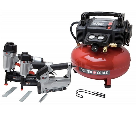 PORTER CABLE PCFP12234 Pancake Air Compressor Combo Kit