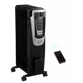 Pelonis portable oil filled radiator space heater ! 1500W