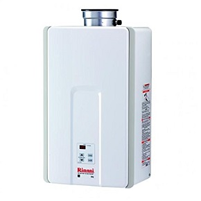 Rinnai indoor tankless water heater