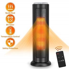 TRUSTECH Portable Ceramic Tower Heater