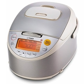 Tiger JKT-B10U-C 5.5-Cup Stainless Steel Rice Cooker-1