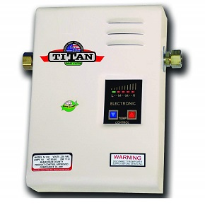 Titan tankless water heater