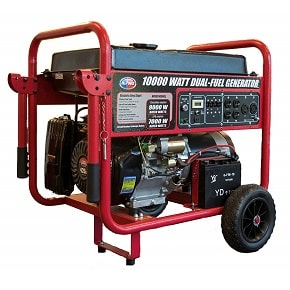 All power america 10000 watt dual fuel generator