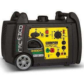 Champion 3400 Watt Dual Fuel