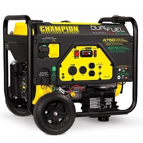 Champion 3800 Watt Dual Fuel