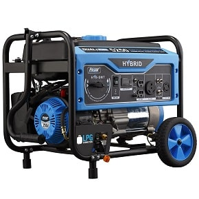 Pulsar 5,250W Dual Fuel Portable Generator