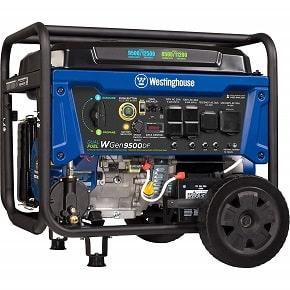 Westinghouse Dual Fuel Generator