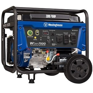 Westinghouse WGen7500 Portable Generator for home
