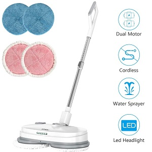 Cordless Electric Mop For Tile Floor