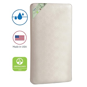 Kolcraft Pure Sleep Waterproof Toddler & Baby Crib Mattress